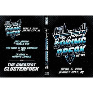 【裏レッスルマニア】GCW DVD「Joey Janela's Spring Break 3 Part 2」(2019年4月6日ジャージーシティ)【R&Rエキスプレス 対 LAX】|freebirds