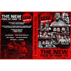 【GCW日本大会DVD】GCW DVD「The New Face Of War 新たなる戦争のカタチ」(2019年8月23日東京 新木場1stRING)アメリカ直輸入盤DVD|freebirds