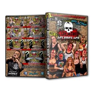 《現品特価》Girl Fight Wrestling DVD「Death Becomes Her 永遠に美しく… 女子デスマッチトーナメント」(2018年6月30日イリノイ州サミット)|freebirds
