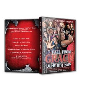 Girl Fight Wrestling DVD「Fall From Grace」(2019年6月11日インディアナ州ジェファーソンビル)米直輸入盤女子プロレスDVD