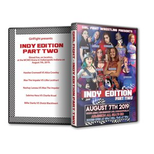 Girl Fight Wrestling DVD「Indy Edition Part 2」(2019年8月7日インディアナ州インディアナポリス)米直輸入盤女子プロレスDVD