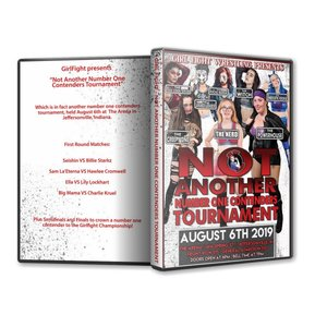 Girl Fight Wrestling DVD「Not Another Number One Contenders Tournament」(2019年8月6日インディアナ州ジェファーソンビル)米直輸入盤女子プロレスDVD