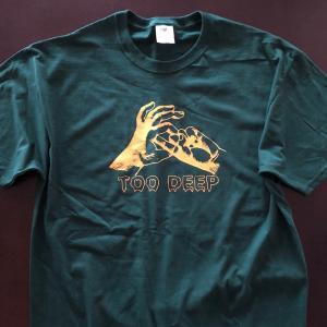 《現品特価》プロレス Tシャツ ジム・ナスティ・ボーイズ Tシャツ「THE GYM NASTY BOYS Too Deep(グリーン) Tシャツ」アメリカ直輸入|freebirds