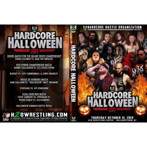 H20 Wrestling DVD「Hardcore Halloween 2」(2019年10月31日ニュージャージー州ウィリアムズタウン)アメリカ直輸入盤DVD《日本盤未発売》