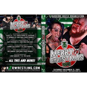 H20 Wrestling DVD「Merry F'n Christmas 2」(2019年12月21日ニュージャージー州ウィリアムズタウン)アメリカ直輸入盤DVD《日本盤未発売》