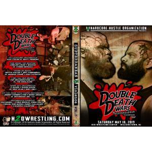 H20 Wrestling DVD「Subterranean Violence Vol. 5 - Double Death Wars」(2019年5月18日ニュージャージー)アメリカ直輸入盤DVD《日本盤未発売》