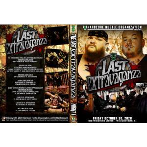 """《現品特価》H20 Wrestling DVD「The Last Extravaganza Night 1」(2020年10月30日ニュージャージー)""""ブルドーザー""""マット・トレモント引退試合 freebirds"""
