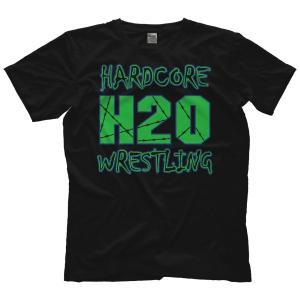 H20 Wrestling Tシャツ「Hardcore Hustle Organization ECW Style V2 (グリーン) Tシャツ」アメリカ直輸入プロレスTシャツ freebirds