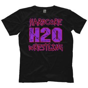 H20 Wrestling Tシャツ「Hardcore Hustle Organization ECW Style V2 (パープル) Tシャツ」アメリカ直輸入プロレスTシャツ freebirds