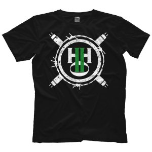 H20 Wrestling Tシャツ「Hardcore Hustle Organization Barbed Wire Ring Tシャツ」アメリカ直輸入プロレスTシャツ freebirds