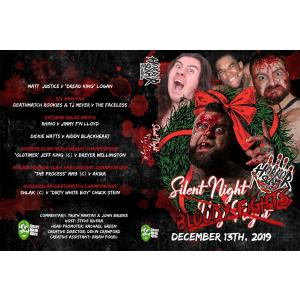 Horror Slam Pro Wrestling DVD「Silent Night, Bloody Fights」(2019年12月13日ミシガン州リンカーンパーク)  アメリカ直輸入盤DVD《日本盤未発売》