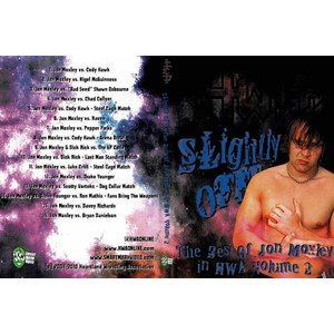HWA DVD「The Slightly Off:The Best Of Jon Moxley In HWA Vol.2」 【Best of ジョン・モクスリー in HWA】米直輸入プロレスDVD