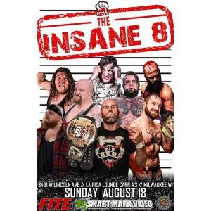 ICW DVD「Insane 8 デスマッチトーナメント 」(2019年8月18日ウィスコンシン州ミルウォーキー)