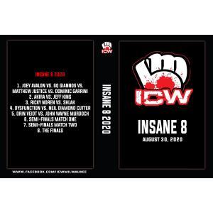 《現品特価》ICWミルウォーキー DVD「Insane 8 デスマッチトーナメント 2020」(2020年8月30日)【オーリン・ヴァイト対ジョン・ウェイン・マードック収録】 freebirds