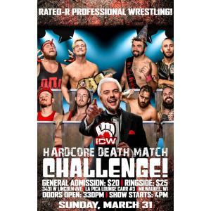 ICW DVD「Hardcore DeathMatch Challenge」(2019年3月31日ウィスコンシン州ミルウォーキー) freebirds