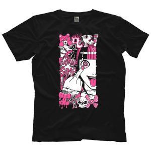 【海外お取り寄せ】伊藤麻希 Tシャツ(米直輸入Tシャツ)「Maki Itoh Simp Tシャツ(並行輸入品)」大きいサイズ(4L、5L、6L)あり|freebirds