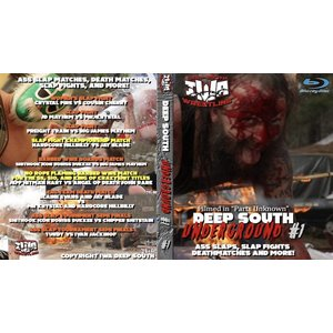IWA Deep South ブルーレイ「Deep South Underground ディープ・サウス・アンダーグラウンド #1」(2021年2月28日米国内開催地非公開)輸入盤Blu-ray|freebirds