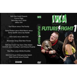 IWAイーストコースト DVD「Future Flight」(2020年7月11日ウエストバージニア州ミルトン)米直輸入盤|freebirds