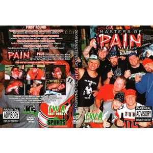 IWAイーストコースト DVD「Masters Of Pain 2006」(2006年9月16日ウエストバージニア州チャールストン)【デスマッチトーナメント】葛西純 参戦|freebirds