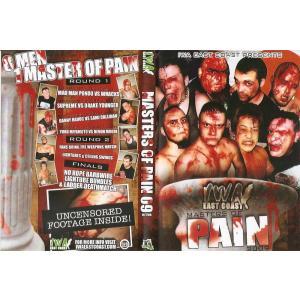 IWAイーストコースト DVD「Masters Of Pain 2009」(2009年11月7日ウエストバーニア州ハンティントン)【デスマッチトーナメント】宮本裕向 参戦|freebirds