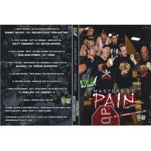 IWAイーストコースト DVD「Masters Of Pain 2012」(2012年7月21日ウエストバージニア州チャールストン)【デスマッチトーナメント】|freebirds
