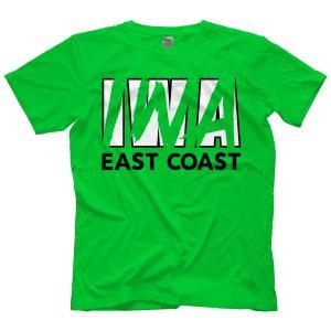 IWAイーストコースト Tシャツ「IWA East Coast ロゴ Tシャツ(グリーン)」アメリカ直輸入プロレスTシャツ|freebirds