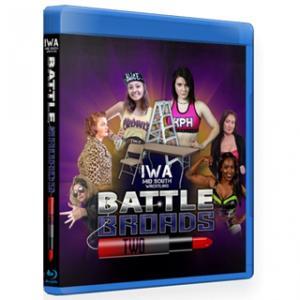 IWAミッドサウス ブルーレイ「Battle Broads 2」(2020年2月22日インディアナ州ジェファーソンビル)米直輸入盤プロレスBlu -ray|freebirds