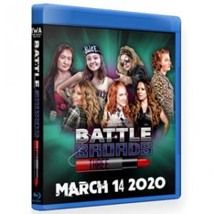 IWAミッドサウス ブルーレイ「Battle Broads 3」(2020年3月14日インディアナ州ジェファーソンビル)米直輸入盤プロレスBlu -ray|freebirds