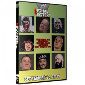 IWAミッドサウス DVD「Lethal Lottery 2019」(2019年9月26日インディアナ州ジェファーソンビル)アメリカ直輸入盤プロレスDVD《日本盤未発売》
