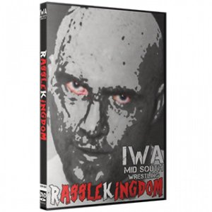 IWAミッドサウス DVD「RassleKingdom ラッスルキングダム」(2019年1月3日イン...