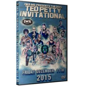 IWAミッドサウス DVD「Ted Petty Invitational 2015」(2015年12...