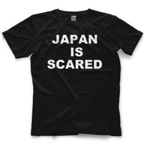 マット・トレモント Tシャツ「MATT TREMONT Japan is Scared Tシャツ」アメリカ直輸入プロレスTシャツ freebirds