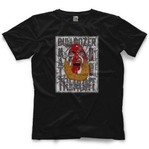 マット・トレモント Tシャツ「MATT TREMONT Bloody Bulldozer Tシャツ」アメリカ直輸入プロレスTシャツ freebirds