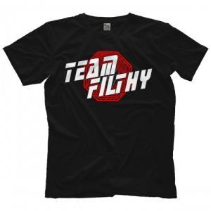 MLW(メジャー・リーグ・レスリング)Tシャツ「Filthy TOM LAWLOR トム・ローラー Team Filthy Tシャツ」  米直輸入プロレスTシャツ freebirds