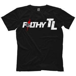 MLW(メジャー・リーグ・レスリング)Tシャツ「Filthy TOM LAWLOR トム・ローラー Filthy Pride Tシャツ」  米直輸入プロレスTシャツ freebirds