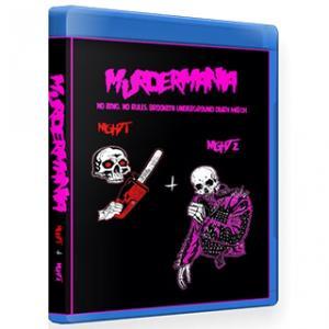 【裏レッスルマニア】New Fear City ブルーレイ「Casanova Valentine's MurderMania Night 1 & 2」(2019年4月3日&4日米ニューヨーク州ブルックリン)|freebirds