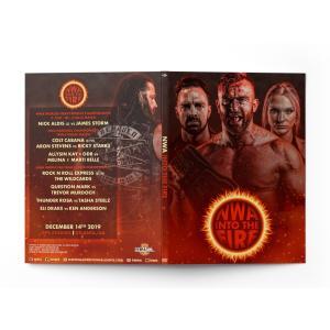 《現品特価》NWA DVD「Into The Fire イントゥ・ザ・ファイヤー」(2019年12月14日ジョージア州アトランタ)アメリカ直輸入盤《日本盤未発売》|freebirds
