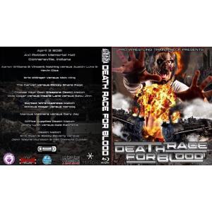 デスマッチ Pro Wrestling Trainwreck ブルーレイ「Death Race For Blood」(2021年4月2日イリノイ州コナースビル)米直輸入盤Blu-ray|freebirds