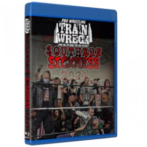 Pro Wrestling Trainwreck ブルーレイ「Southern Sickness 2 デスマッチトーナメント【ブルーレイ特典映像付き】」(2021年5月14日&15日)米直輸入盤Blu-ray|freebirds