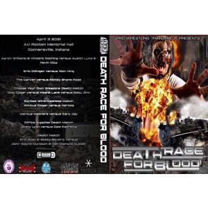 デスマッチ Pro Wrestling Trainwreck DVD「Death Race For Blood」(2021年4月2日アクセル・ロットン・メモリアル・ホール)米直輸入盤|freebirds