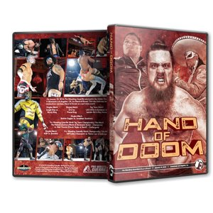 PWG DVD「Hand Of Doom 〜さよならトレバー・リー」(2019年1月18日カリフォルニア州ロサンゼルス)アメリカ直輸入盤《日本盤未発売》 freebirds