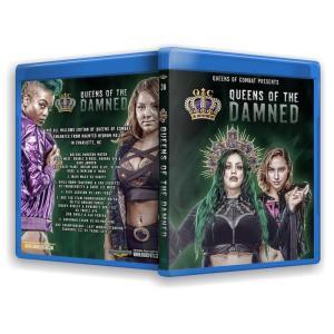 クイーンズ・オブ・コンバット ブルーレイ「Queens Of Combat 38:Queens Of The Damned」(2019年10月19日米ノースカロライナ)米直輸入女子プロレスBlu-ray