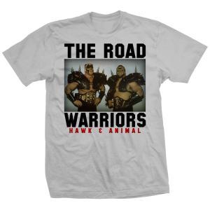 シカゴのスラムでドブネズミを食って育った男たち「ザ・ロード・ウォリアーズ  クラシック Tシャツ」アメリカ直輸入Tシャツ 大きいサイズお取り寄せできます|freebirds