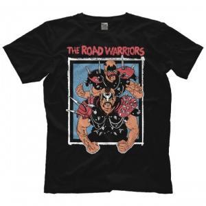 ロード・ウォリアーズ Tシャツ「Road Warriors Championship Wrestling Tシャツ」【アメリカ直輸入 プロレスTシャツ 大きいサイズ(XXL 3XL 4XL)もあり】|freebirds