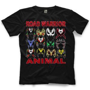 ロード・ウォリアーズ Tシャツ「Road Warriors Animal Warpaint Tシャツ」【アメリカ直輸入 プロレスTシャツ 大きいサイズ(XXL 3XL 4XL)もあり】|freebirds