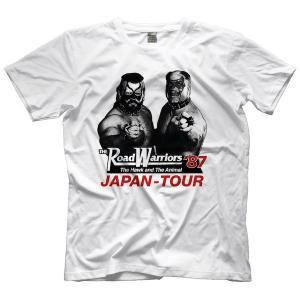 プロレスTシャツ ロード・ウォリアーズ Tシャツ「Road Warriors '87 JAPAN TOUR Tシャツ」アメリカ直輸入|freebirds