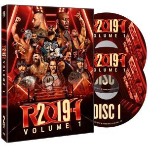 ROH DVD「ROH 2019 Volume 1(2枚組)」【ROH2019年1月〜3月総集編】アメリカ直輸入盤DVD