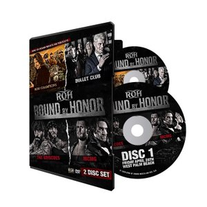 ROH DVD「Bound By Honor Night1&2」(2018年4月27日フロリダ州ウエスト・パーム・ビーチ&4月28日フロリダ州レイクランド)【二大会収録 2枚組】|freebirds