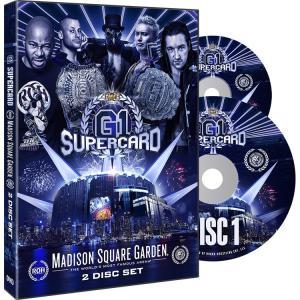 【裏レッスルマニア】ROH&新日本プロレス合同興行DVD「G1 Supercard(2枚組)」(2019年4月6日ニューヨークMSG)【ジェイ・ホワイト 対 オカダカズチカ】