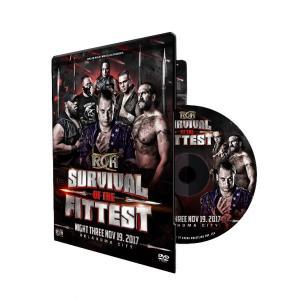 ROH DVD「Survival Of The Fittest 2017 Night 3」(2017年11月19日オクラホマ州オクラホマシティ)|freebirds